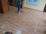 Lekcja ciszy Montessori z kolorami